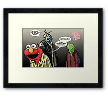 Muppet Sacrifice Framed Print
