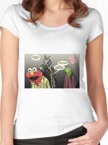 Muppet Sacrifice Women's Fitted Scoop T-Shirt