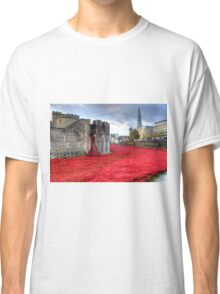 Poppies at the Tower Classic T-Shirt