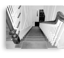 Upstairs-Downstairs Canvas Print