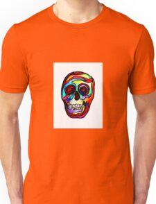 "Trippy ""Stained Glass Skull"" Art by VCalderon  Unisex T-Shirt"