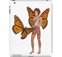 Monarch Butterfly Fairy Boy iPad Case/Skin