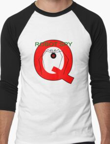 Jonny Quest Robot Spy! 2nd Version Men's Baseball ¾ T-Shirt