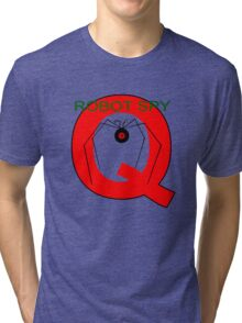 Jonny Quest Robot Spy! 2nd Version Tri-blend T-Shirt