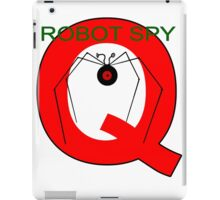 Jonny Quest Robot Spy! 2nd Version iPad Case/Skin