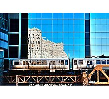 train in the loop Photographic Print