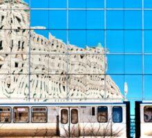 train in the loop Sticker