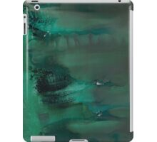 Emerald Green Monoprint iPad Case/Skin