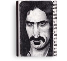 SKETCH PAD page ZAPPA ! Canvas Print