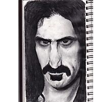 SKETCH PAD page ZAPPA ! Photographic Print