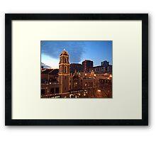 Kansas City Plaza Lights - Christmas  Framed Print
