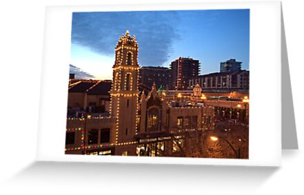 Kansas City Plaza Lights - Christmas  by TeeMack