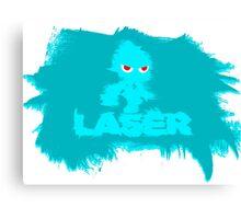 Laser Wisp (sonic colours) Canvas Print