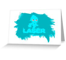 Laser Wisp (sonic colours) Greeting Card