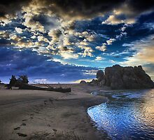 Turtle Rock Sunset by Trixi Huish