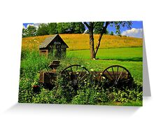 Mail Pouch Welcome Greeting Card