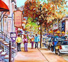 Crescent Street by Carole  Spandau