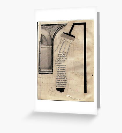 the word fix' Greeting Card
