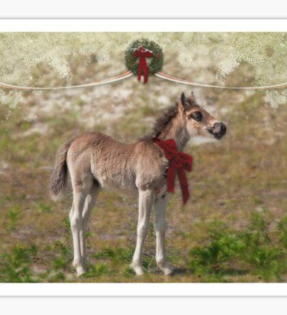 Wild promise of Christmas Sticker