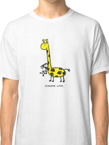 Giraffe Love. Classic T-Shirt