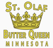 ST OLAF BUTTER QUEEN WITH CROWN One Piece - Short Sleeve