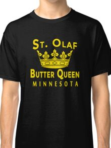 ST OLAF BUTTER QUEEN WITH CROWN Classic T-Shirt