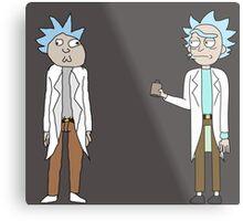 Doc and Rick Metal Print