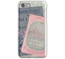 Pink and Gray Books iPhone Case/Skin