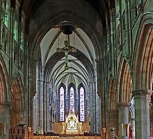 St Mary's Episcopal Cathedral Interior by Tom Gomez