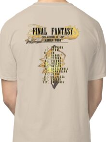 Final Fantasy | Band Tour Style Classic T-Shirt