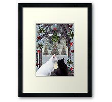 Mistletoe Magic Framed Print