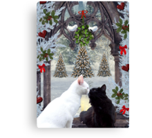 Mistletoe Magic Canvas Print