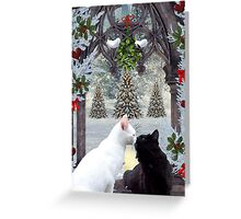Mistletoe Magic Greeting Card