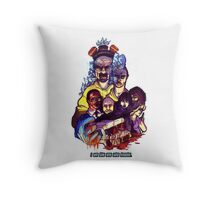I am the one who Knocks Throw Pillow