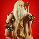 Golden Santa by JHRphotoART