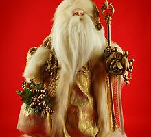 Golden Santa by JHRphotoART