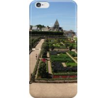 Chateau overlooking gardens iPhone Case/Skin