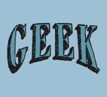 GEEK in Blue Kids Tee