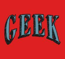 GEEK in Blue One Piece - Short Sleeve
