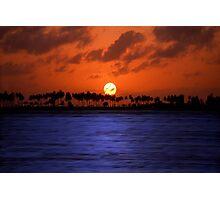 """Splendid Sunset"" - sunset in San Juan, Puerto Rico Photographic Print"