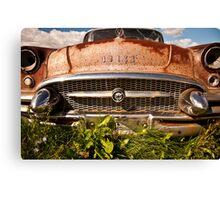Rusty Buick Canvas Print