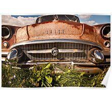 Rusty Buick Poster