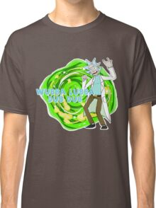 Rick and Morty- WUBBA LUBBA DUB DUB Classic T-Shirt