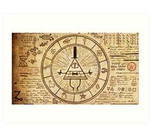 Bill Cipher Wheel Art Print