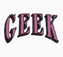 GEEK in Pink Kids Clothes