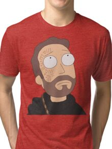 Rick and Morty: Jerry In Cloud Atlas Tri-blend T-Shirt