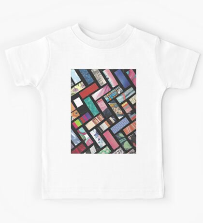Picture Collage ~ Comic Book Strips  Kids Tee