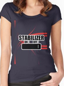 Stabilizer Women's Fitted Scoop T-Shirt