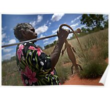 hunting for goanna Poster