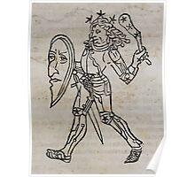 Hic Codex Auienii Continent Epigrama Astronomy Rufius Festivus Avenius 1488 Astronomy Illustrations 0159 Constellations Poster